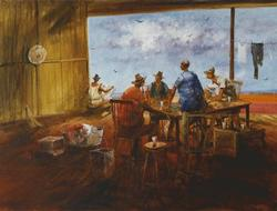The Poker Game, West Queensland